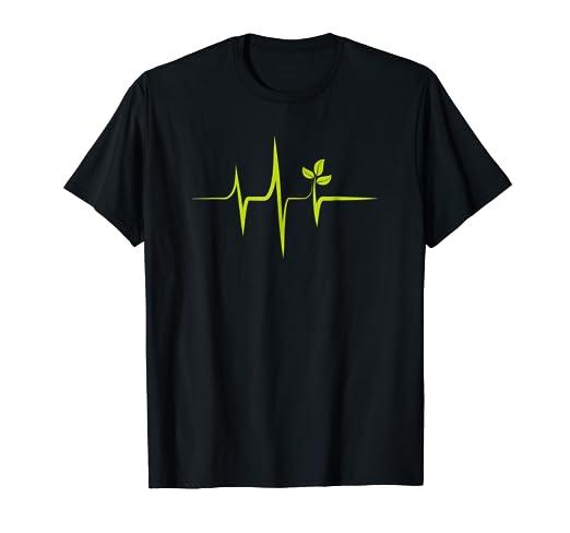 Amazon Com Cyber Monday Deals Heartbeat Plants Shirt Vegan