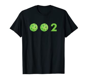 9d45ce220 Image Unavailable. Image not available for. Color: Zero, Zero, Two - 0, 0, 2  Cute Funny Pickleball T-
