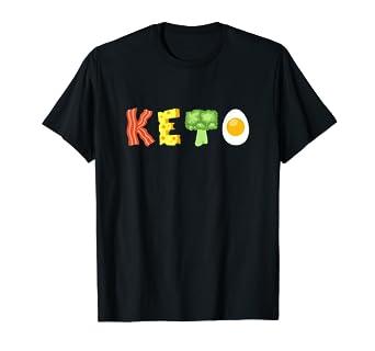 819ead339 Amazon.com: Keto Low-Carb Diet T-Shirt: Clothing