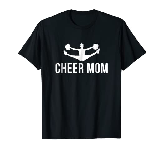 9503e4a50fdf Image Unavailable. Image not available for. Color: Cheerleading Cheer Shirt  Cheer Mom Squad Gift