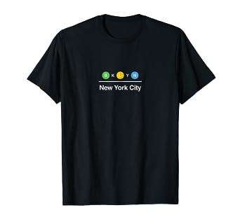 Nyc Subway Map Shirt.Brooklyn Nyc New York City Subway Graphic T Shirt