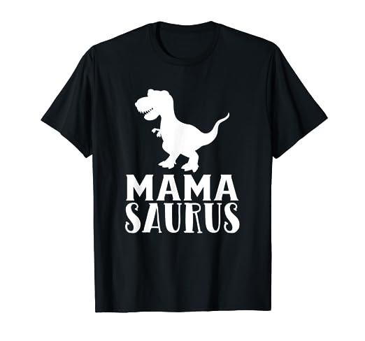 87202e9d1 Amazon.com: Mama Saurus T-Shirt Matching Dinosaur Family Gifts for ...