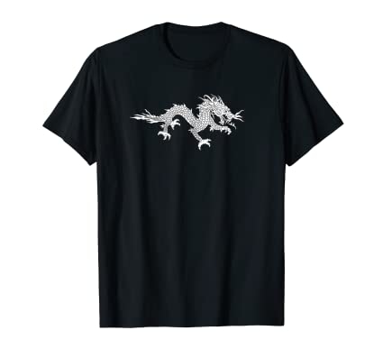 Dragon Four T Shirt for fans of asian mythological creatures