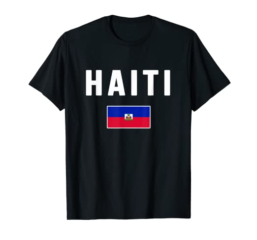 Amazon Com Haiti T Shirt Haitian Flag Souvenir Gift Love Clothing
