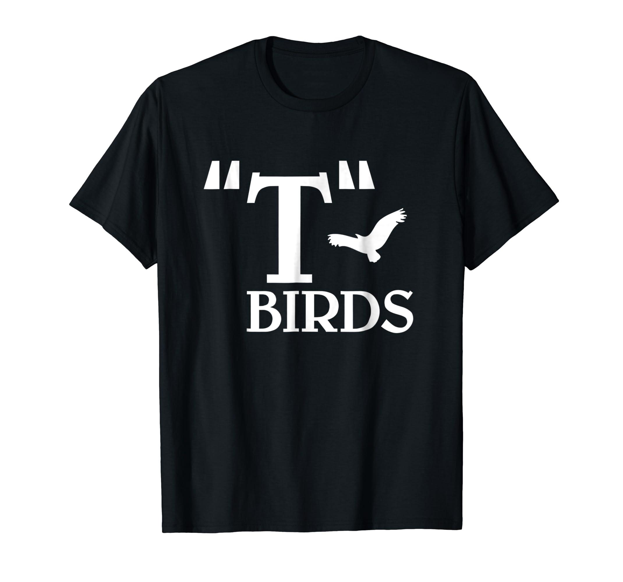 T-Birds Movie themed T-Shirt-Men's T-Shirt-Black