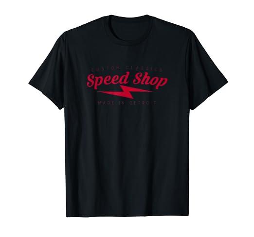 d0ce4d4e321 Amazon.com  Speed Shop Tshirt
