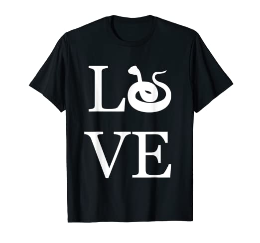 ab3f2319707b Image Unavailable. Image not available for. Color: Love Snake Shirt ...