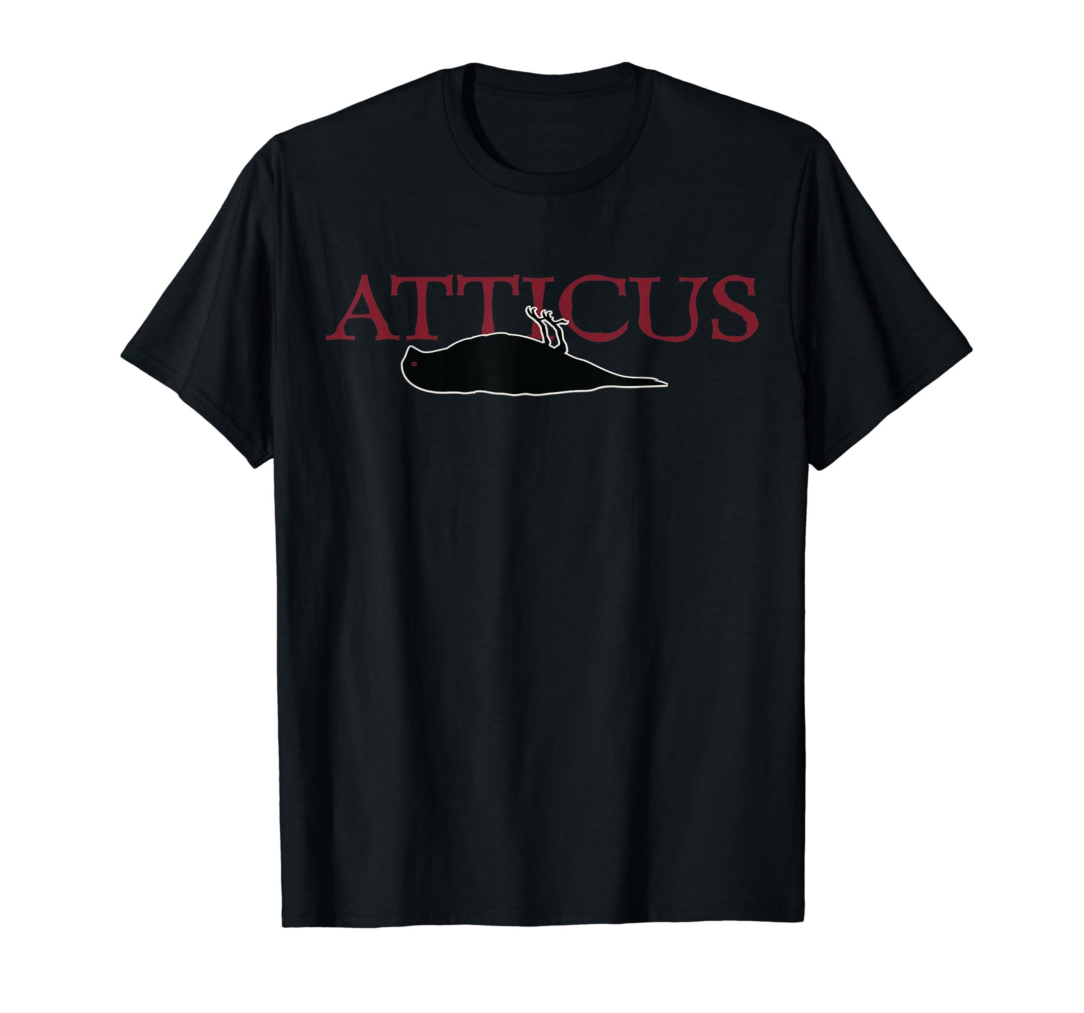 Mens ATTICUS 2001 Deadbird T Shirt (Original Print)-Men's T-Shirt-Black