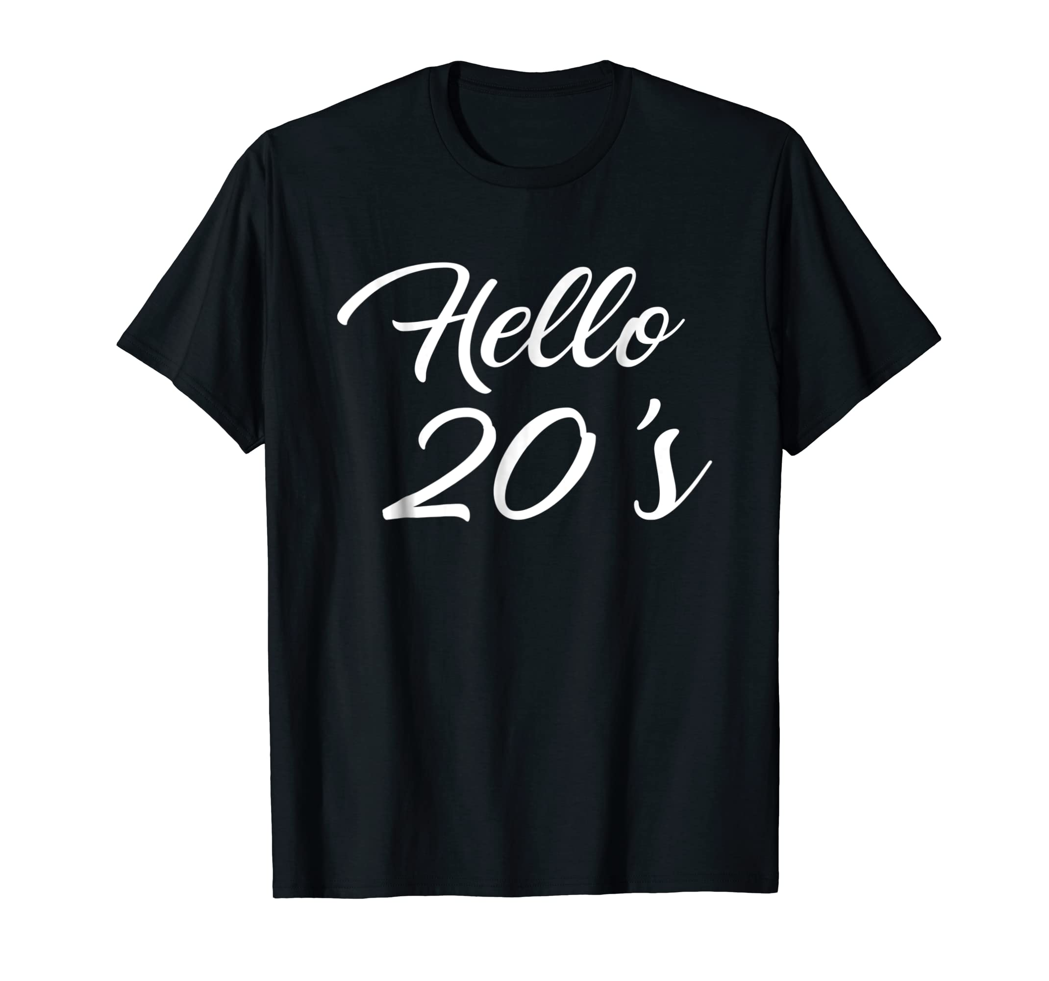 Amazon Birthday Shirts 20th Gifts For Her Hello 20s Clothing