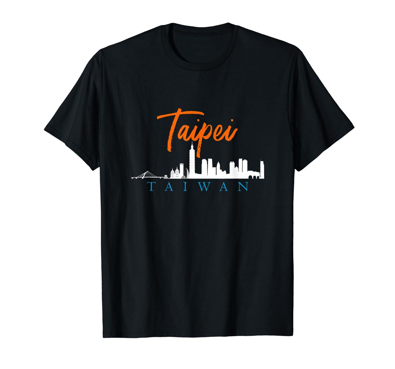 Taipei Skyline Taiwan T Shirt