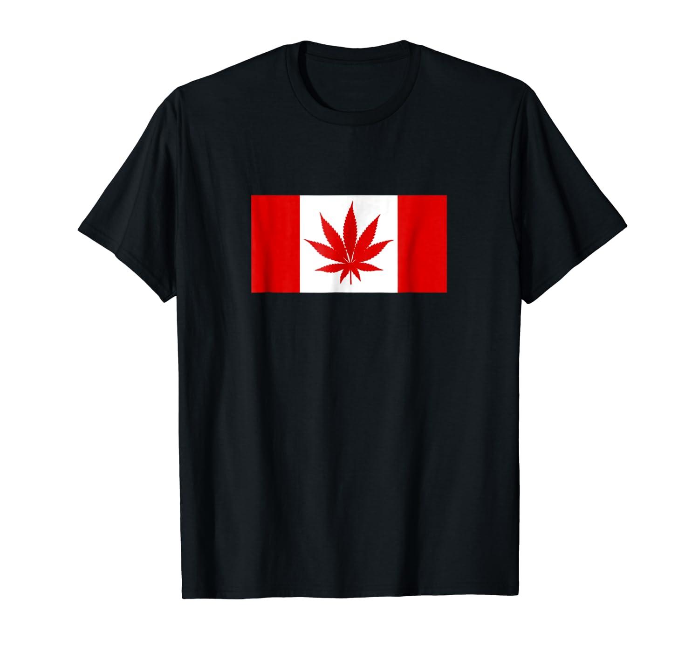 Funny Canada Weed Leaf Shirts