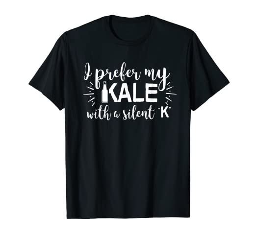 50080d22b Image Unavailable. Image not available for. Color: I Prefer My Kale With A  Silent ...