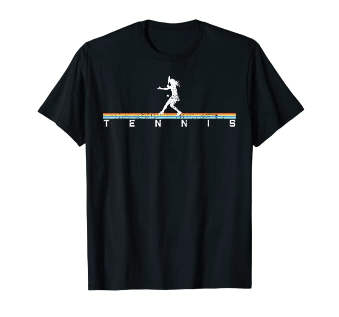 Tennis T Shirt Woman Plays Tennis Tshirt Gift Tee Vintage by Tennis Player Gift Shirts