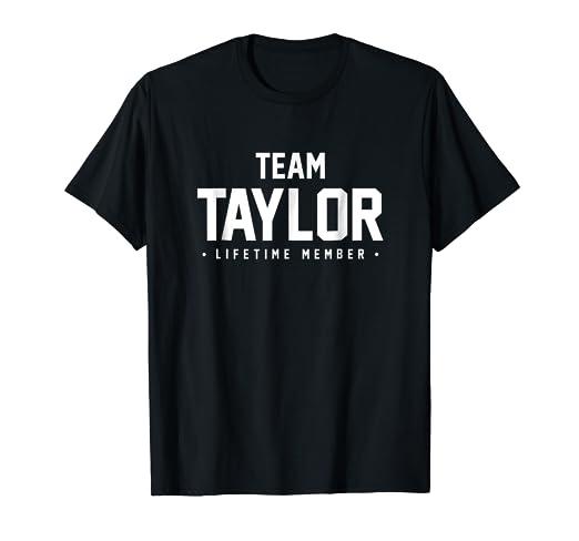 Amazon Com Family Reunion Shirt Team Taylor Matching Gift Clothing