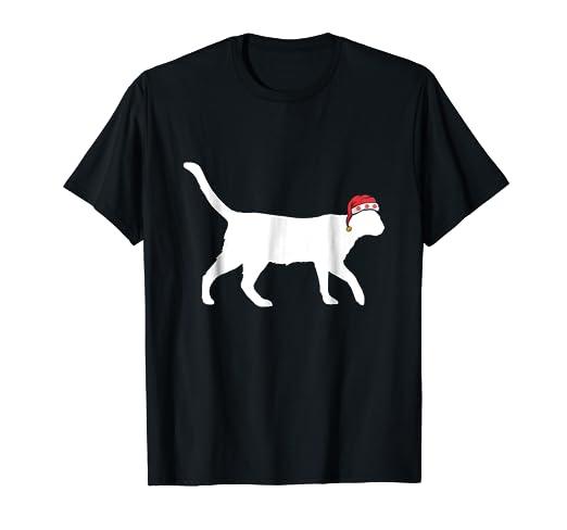 cat santa christmas siamese cat christmas shirt