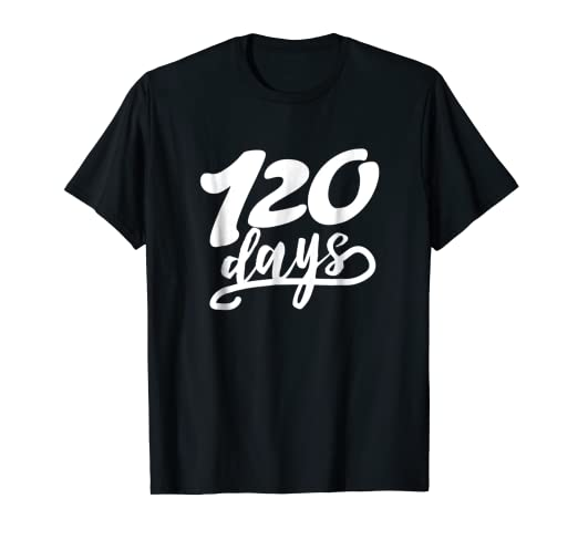 Amazoncom 120 Days Of School Shirt First Grade Teacher Gifts