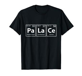 Incredible Amazon Com Palace Pa La Ce Periodic Table Elements Shirt Download Free Architecture Designs Momecebritishbridgeorg