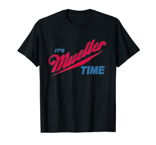 fd22ebab Image Unavailable. Image not available for. Color: It's Robert Mueller Time  Resist Anti Trump Tee Shirt