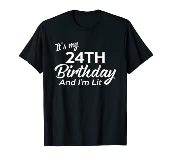 Image Unavailable Not Available For Color 24th Birthday Gift Ideas