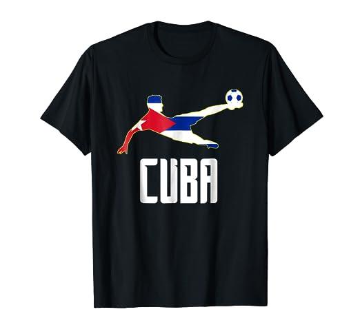 Camiseta Futbol Cuba - Cuban Soccer T-shirt