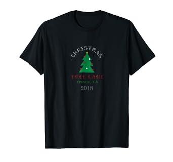 Amazon Com Christmas Tree Lane Fresno Ca T Shirt Clothing