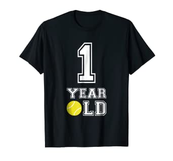 Image Unavailable Not Available For Color 1 Year Old Tennis Birthday Shirt Boys