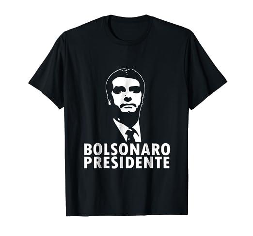 Bolsonaro Presidente 2018 Camiseta Tshirt