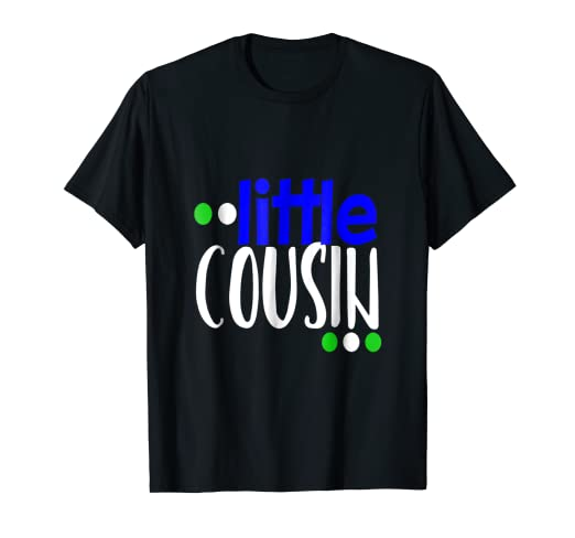 7c72a878 Image Unavailable. Image not available for. Color: Little Cousin Shirt ...