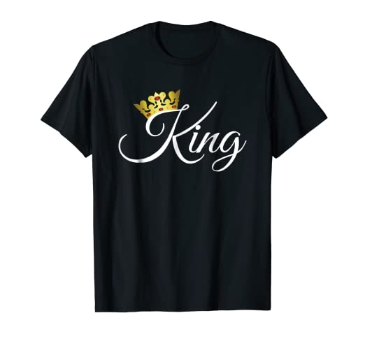 de901e453113b Image Unavailable. Image not available for. Color  King and Queen Shirts  Matching Couple Outfits