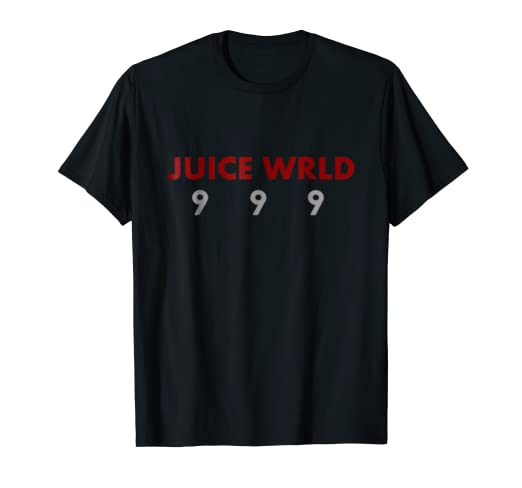 1dfa635f491 Amazon.com  Juice WRLD 9 9 9 T Shirt For Mens Womens  Clothing
