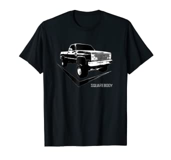 4d8751496dc Amazon.com  Squarebody T-Shirt With Classic Square Body Truck  Clothing