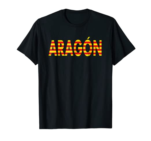 Aragon Shirt Camiseta de Espana Zaragoza Spaniards Shirt