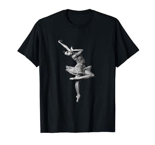 0b5da428 Image Unavailable. Image not available for. Color: Ballerina Dancer Tee T- Shirt women girls dance design
