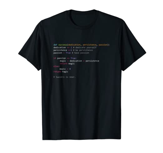 a89dc7f36 Image Unavailable. Image not available for. Color: Python Code Shirt:  Programming Syntax T-Shirt Computer Geek