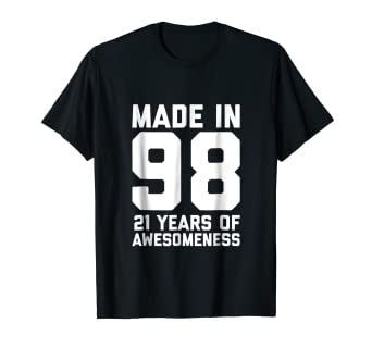 Image Unavailable Not Available For Color 21st Birthday Shirt Son 21 Year Old Daughter Gift