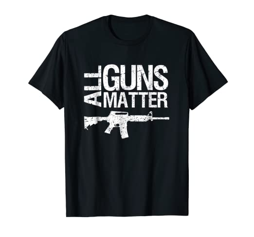 57f7b4d070907 Image Unavailable. Image not available for. Color  All Guns Matter T Shirt