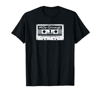 Amazon com: 90s Grunge Cassette Tape Music T Shirt: Clothing