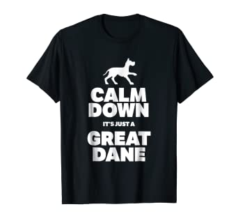 1697342a Image Unavailable. Image not available for. Color: Funny Great Dane T-Shirt  Dog Lover Gift Idea
