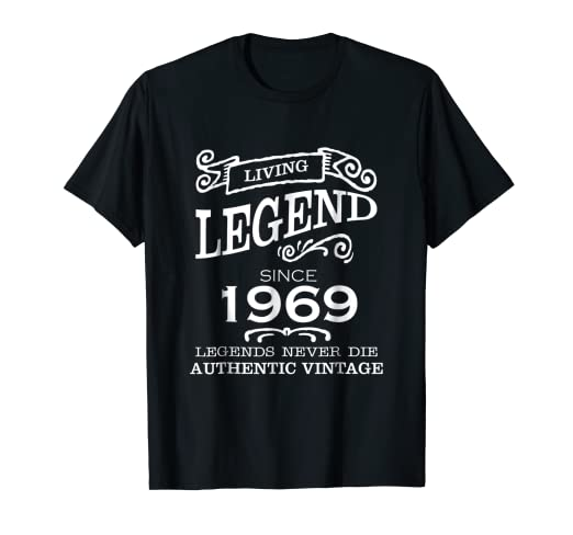 05482acd18ca51 Image Unavailable. Image not available for. Color: Living Legend Since 1969 authentic  vintage t-shirt
