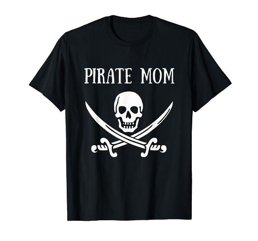 Amazon.com  Pirate Mom Shirt Pirate Family Shirts Family Matching ... 6f2e2154b