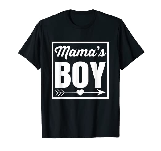 592af83f8 Image Unavailable. Image not available for. Color: Proud Mama's Boy T Shirt  ...