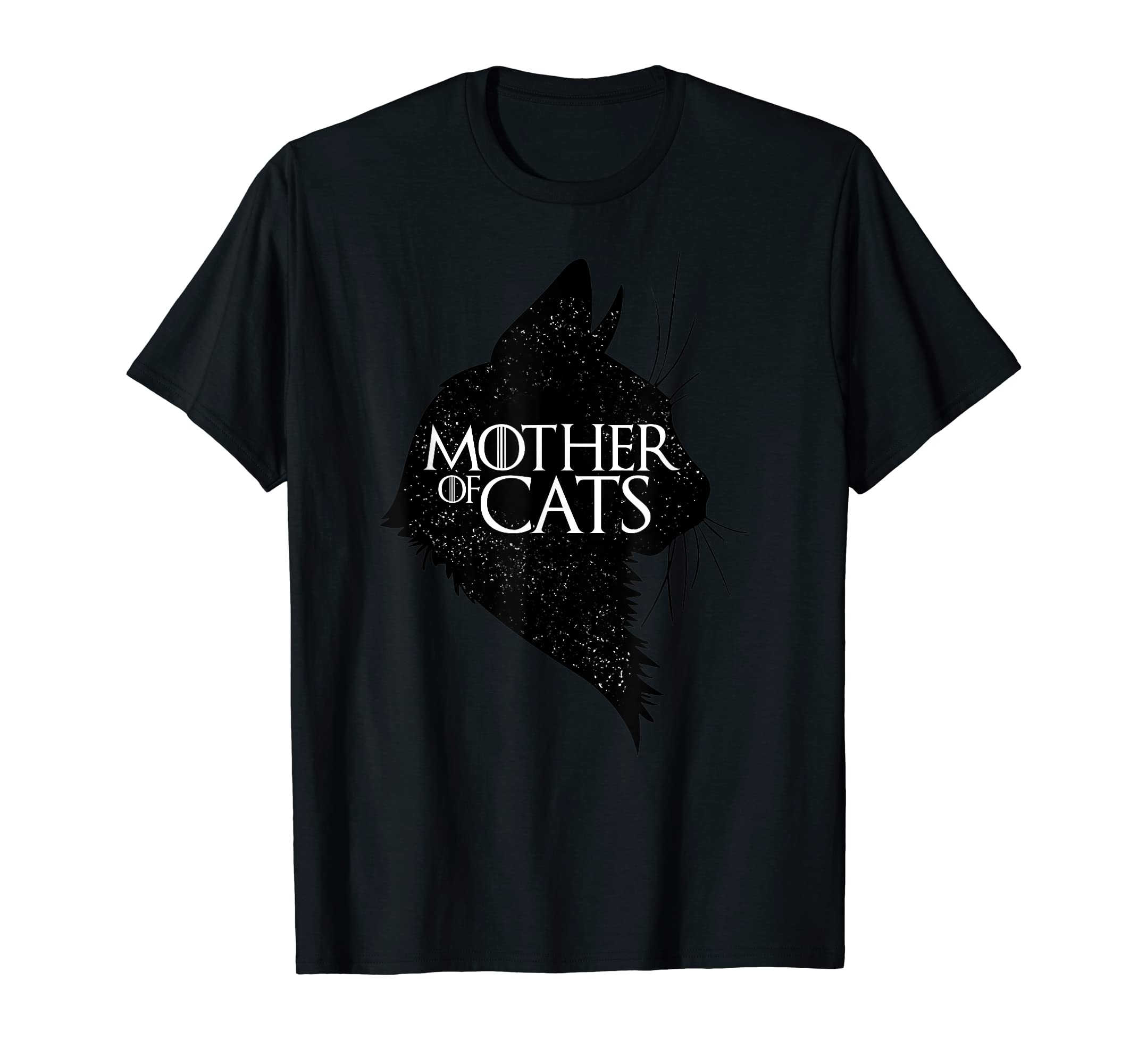 Mother Of Cats Funny King Or Queen Cosplay Gift-Men's T-Shirt-Black