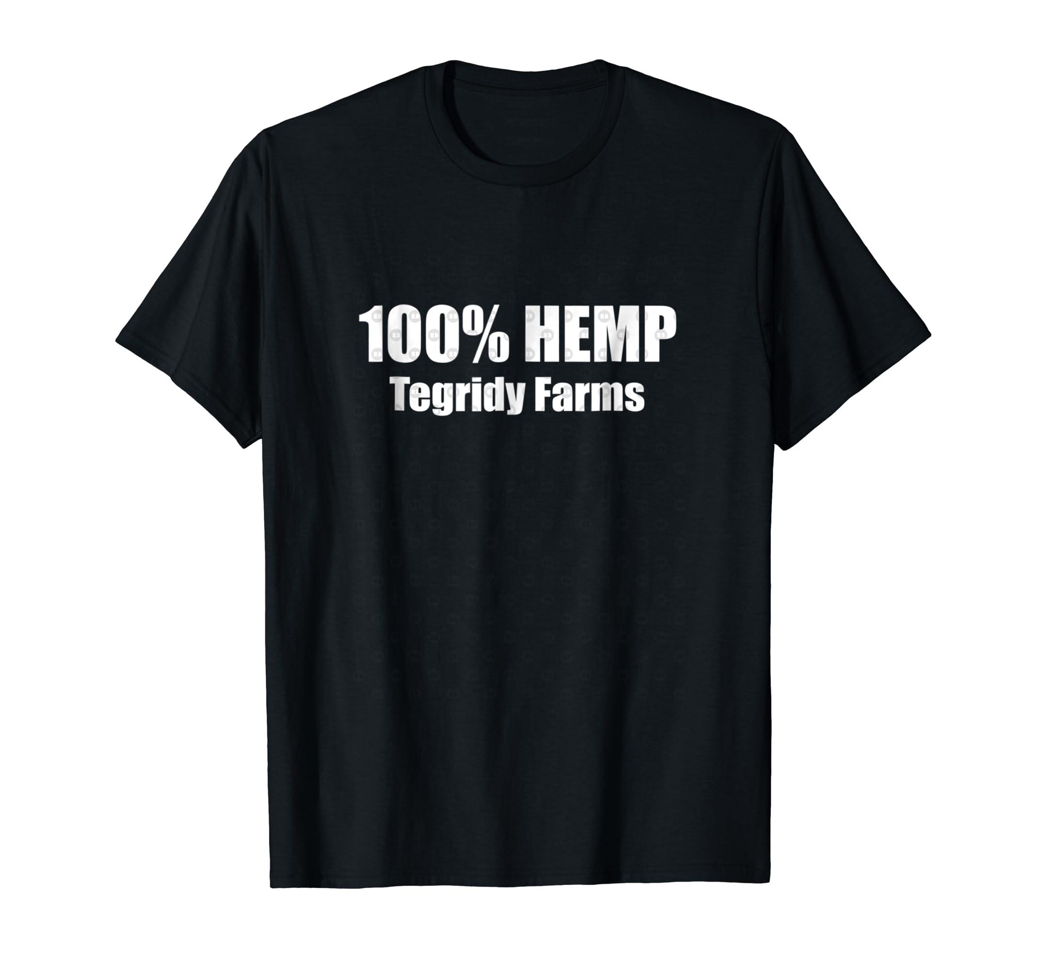 43eddb7c Amazon.com: 100% HEMP TEGRIDY FARMS shirt: Clothing