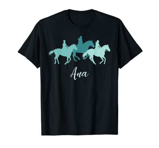 Amazon com: Ana Horse Girl Personalized Name Birthday Gift