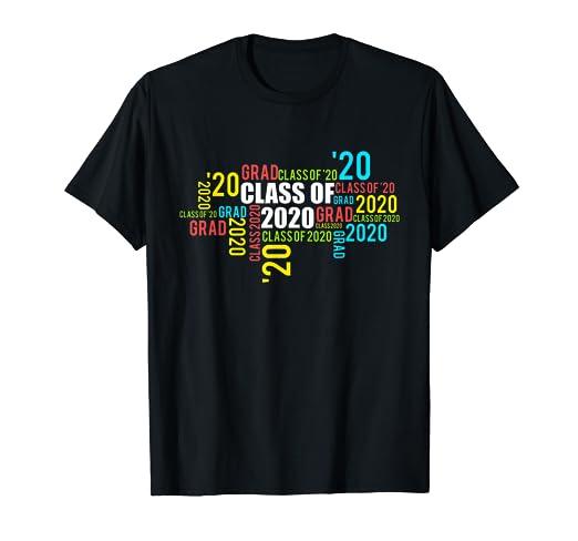 Graduation Day 2020.Amazon Com Class Of 2020 Squad Tee Senior 20 Graduation Day