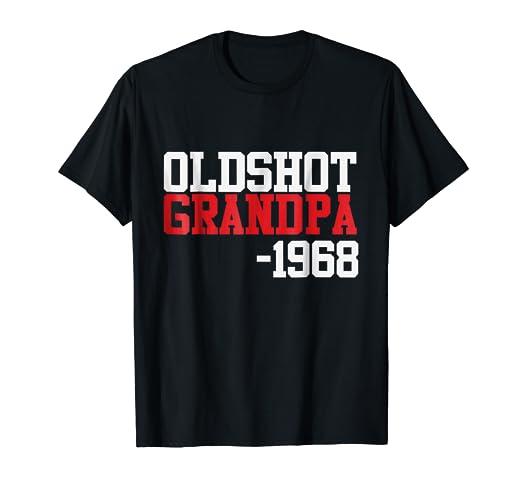 Mens Vintage 1968 Cool 50th Birthday Gift Ideas For Grandpa Shirt