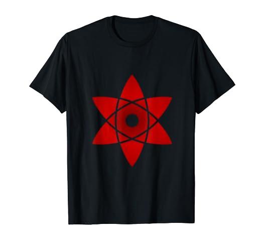 Amazoncom Sasuke Mangekyou Sharingan Eye Design Shinobi T