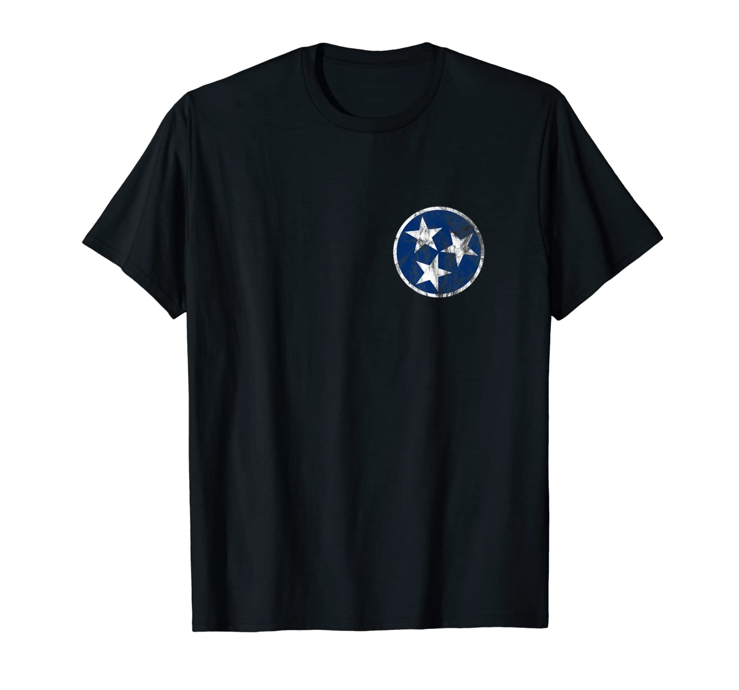 Tennessee State Flag Blue Stars Traditional Shirt