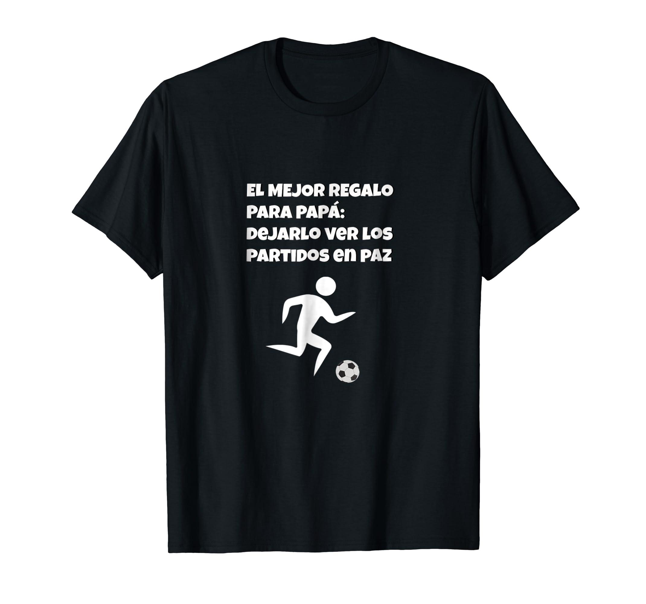 23411b7414 Amazon.com: Mens Latin Dad Soccer Fan Funny T-Shirt.: Clothing