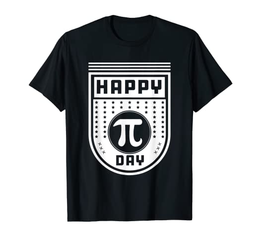 60a3541e Image Unavailable. Image not available for. Color: Happy Pi Day T-Shirt Love  Geek Nerd Funny Math Shirt